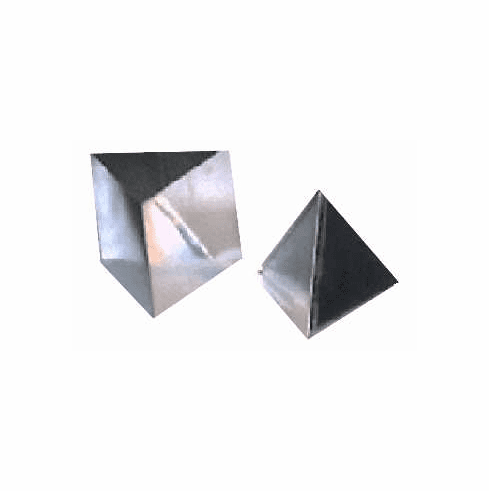 """PYRAMID CANDLE MOLD, 3 SIDES, 4.5"""" x 6"""" (12 oz)"""