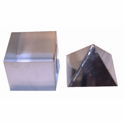 """PYRAMID CANDLE MOLD, 4 SIDES, 4.5"""" x 6.5"""" (2 lb)"""