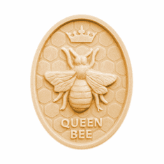 QUEEN BEE OVAL SOAP MAKING MOLD (4 WELL)