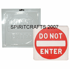 SIGNS AND WORD PLAQUES PLASTER MOLDS