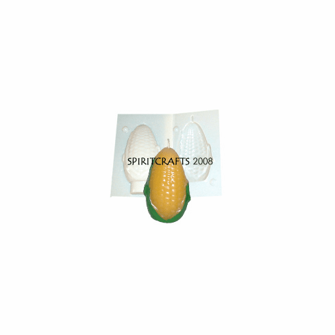 """SMALL EAR OF CORN CANDLE MOLD (3.25"""" HT, 4 oz)"""