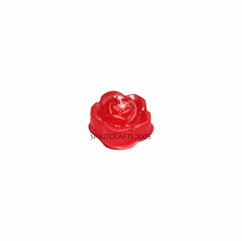 "SMALL FLOATING ROSE CANDLE MOLD (2.5"" DIA)"