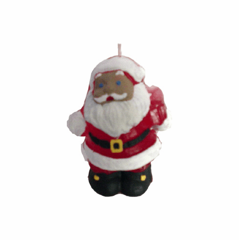 "SMALL SANTA CANDLE MOLD (3.25"" HT, 2.5 oz)"