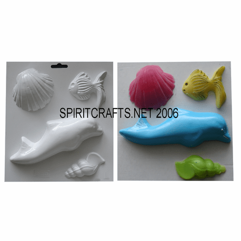 SOAP MOLD, DOLPHIN AND SEALIFE