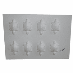 SPIRITCRAFTS TURTLE EMBED / WAX TART MOLD (8 WELL)
