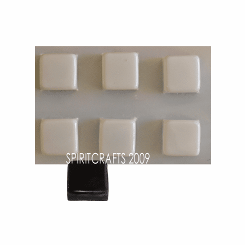 SQUARE BARS SOAP MAKING MOLD, 6 WELL