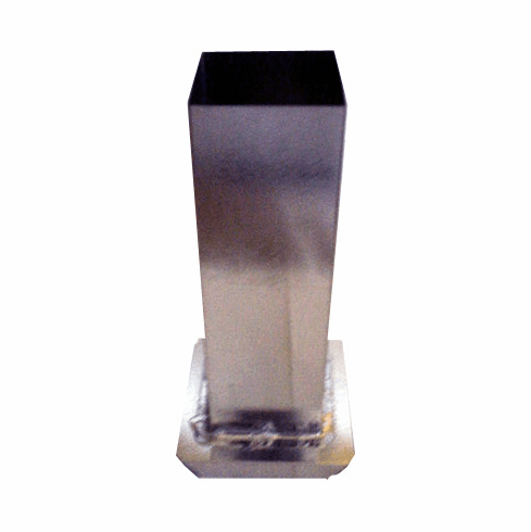 "SQUARE PILLAR CANDLE MOLD, 2"" x 6.5"" (14 oz)"