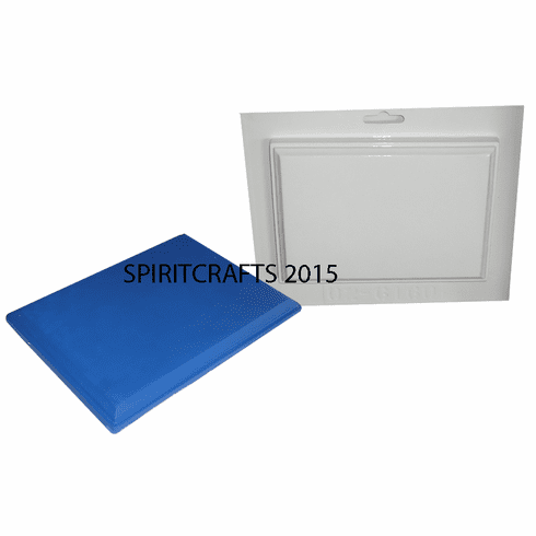 """TAPERED RECTANGLE TRAY PLASTER MOLD (5"""" x 7"""")"""