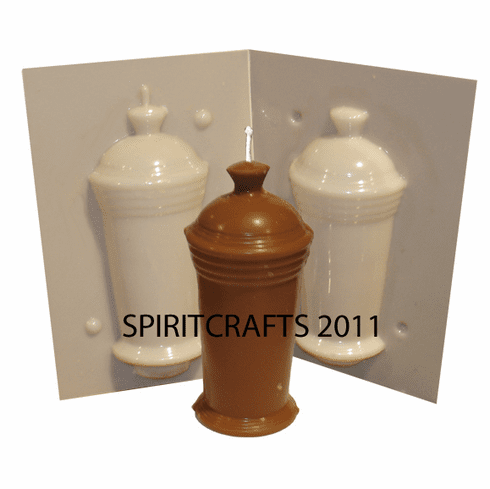 """THIN URN WITH HANDLE CANDLE MOLD (5.5"""" HT, 9 oz)"""