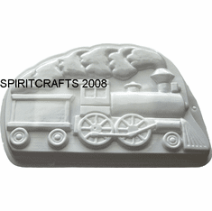 "TRAIN CAKE PAN MOLD (9"" x 14"")"