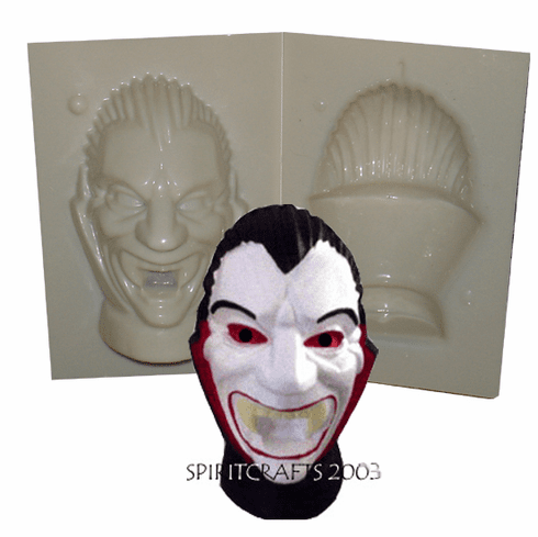 """VAMPIRE CANDLE MAKING MOLD (5.25"""" HT, 1 lb 6 oz)"""