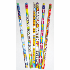 VBS / SUNDAY SCHOOL RELIGIOUS PENCILS (20 PACK)