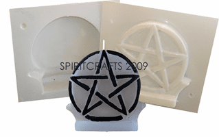 WICCA / PAGAN <br> CANDLE MOLDS