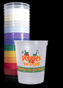 12 Oz. Personalized Plastic Cups - Click to enlarge