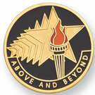 Above & Beyond Lapel Pin - Click to enlarge