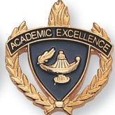 Academic Excellence Pins - Click to enlarge