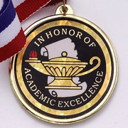 Academic In Honor Of Academic Excellence Medals - Click to enlarge