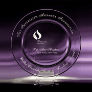 Crystal Accolade Plate Awards (2 Sizes) - Click to enlarge