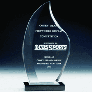 Acrylic Trophy Flame - Click to enlarge