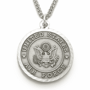 Air Force Medal, St. Michael on Back - Click to enlarge