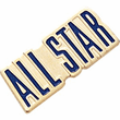 ALL STAR Pins - Color - Click to enlarge