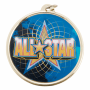 All Star Medal - Click to enlarge