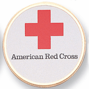 American Red Cross Medal Insert (Etched) - Click to enlarge