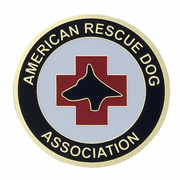 American Rescue Dog Association Medal Insert (Etched) - Click to enlarge