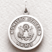 Army Medal Cross on Back - 1