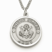 Army Medal w/St. Michael on Back - Click to enlarge