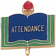 Attendance Pins - Click to enlarge