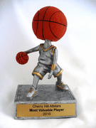 Basketball Bobble Head Trophy - Click to enlarge