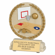 Basketball Cast Stone Series Trophy - Click to enlarge
