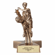 Basketball - Star Series Resin Trophies (Female) - Click to enlarge