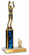 Trophies With Place Trim (1st, 2nd, or 3rd) - Basketball - Click to enlarge