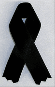 Mourning Ribbons (Black) - Click to enlarge