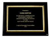 Black Piano Plaques (12x9) - Click to enlarge