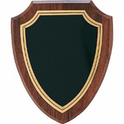 Blank Shield Custom Plaque - Click to enlarge