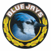 Blue Jays Mascot Medal Insert - Click to enlarge