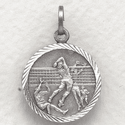 St. Christopher Medal - Boys Volleyball - Click to enlarge