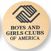 Boys & Girls Club Medal Insert (Etched) - Click to enlarge