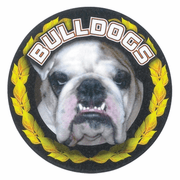 Bulldogs Mascot Medal Insert - Click to enlarge
