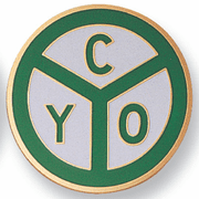 CYO Medal Insert (Etched) - Click to enlarge