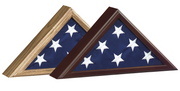 Capitol Flag Cases - Click to enlarge