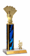 Trophies With Place Trim (1st, 2nd, or 3rd) - Cards Figure - Click to enlarge