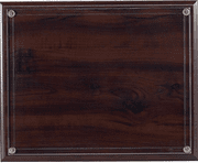 Walnut Certificate Plaque - Click to enlarge