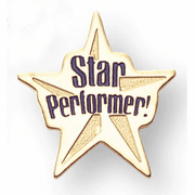 Star Performer Chenille Pins - Click to enlarge