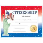 Citizenship Certificates - Click to enlarge