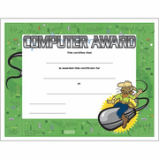 Computer Award Certificate - Click to enlarge