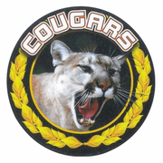 Cougars Medal Mascot Medal Insert - Click to enlarge